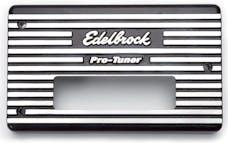 Edelbrock 3613 Pro-Tuner EFI  SuperVictor. ECU Face Plate Aluminum.