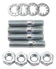 "Edelbrock 8008 Carburetor Stud Kit - (5/16""-18 x 1-1/2"") in Zinc Finish"