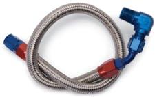 Edelbrock 8124 Braided Stainless Fuel Line Kit
