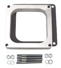 "Edelbrock 8717 Carburetor Spacer - 4500-Style 1"" Open Spacer, Aluminum"