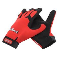 Edelbrock 9138 Mechanic Gloves, Red/Black XL