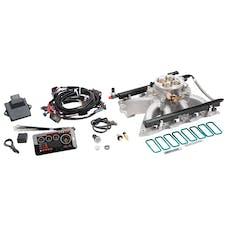 Edelbrock 35700 PRO FLO 4 EFI SYSTEM LS GEN III/IV VICTOR JR CATHEDRAL PORT 475 HP