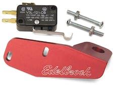 Edelbrock 72281 Billet Microswitch Bracket Dominator Carb