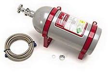 Edelbrock 72321 10lb 6AN Nitrous Bottle & Billet Bottle Bracket Kit
