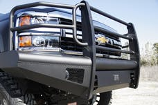 Fab Fours, Inc CH05-Q1360-1 ELITE Ranch Bumper with Full Guard with Tow Hooks