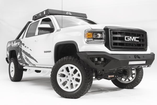 Fab Fours, Inc GS14-D3151-1 Vengeance Front Senor Bumper with No Guard