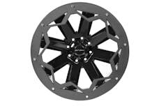 "Fab Fours, Inc SL2402-B 24"" Wheel Ring 'RIDGE' 4PK Bare"