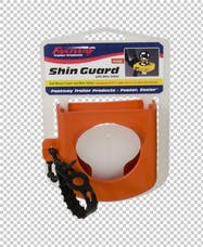 Fastway 82-00-3126 Hitch Shin Guard- Orange with wire Tether