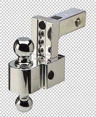 Fastway DT-ALBM6400-2S 4in Adj Dual Locking Aluminum Ball Mount Stainless