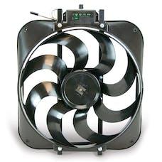 """Flex-A-Lite 160 Fan Electric 15"""" single S blade puller w/ controls"""
