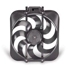 "Flex-A-Lite 168 Fan Electric 15"" Black Magic S-blade w/o controls"