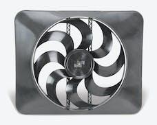 """Flex-A-Lite 180 Fan Electric 15"""" single shrouded puller universal w/ controls"""
