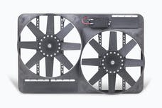"""Flex-A-Lite 295 Fan Electric 13 1/2"""" dual shrouded puller w/ variable speed control"""
