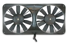 "Flex-A-Lite 340 Fan Electric 11"" dual shrouded pusher or puller w/o controls"