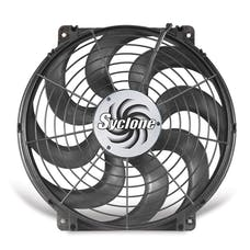 "Flex-A-Lite 398 Fan Electric 16"" single pusher or puller Syclone universal w/o controls"