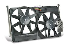 """Flex-A-Lite 775 Fan Electric 13 1/2"""" dual shrouded puller w/ variable speed control"""