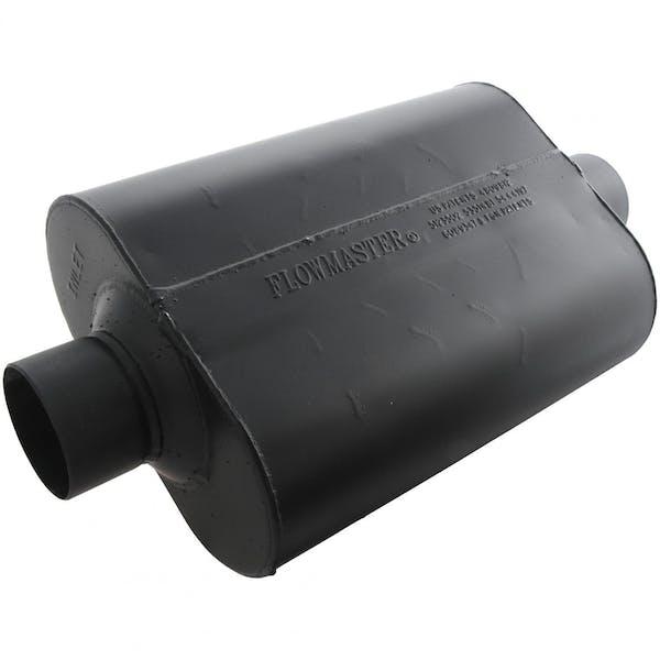 Flowmaster 943045 Super 44 Muffler-3.00 Center In/3.00 Center Out-Aggressive Sound