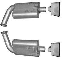 Gibson Performance Exhaust 618002 Axle Back Dual Exhaust System, Stainless