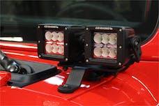 Go Rhino 730230T Jeep Wrangler JL Light Mounts