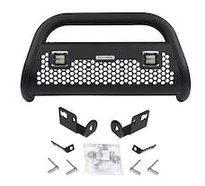 Go Rhino 55732LT RC2 LR - 2 lights - Complete kit: Front guard + Brackets + GR Lights