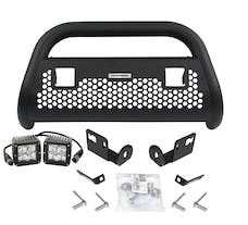 Go Rhino 5573211T RC2 LR- Complete kit: Front guard + Brackets +Lights