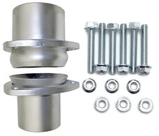 "Hedman Hedders 21153 2 1/2"" Aluminized Steel Collector Ball Flange Kit"