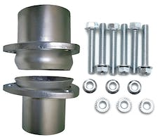 "Hedman Hedders 21155 2 1/2"" Stainless Steel Collector Ball Flange Kit"