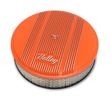 Holley 120-126 Holley Air Cleaner, Finned