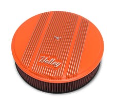 Holley 120-127 Holley Air Cleaner, Finned