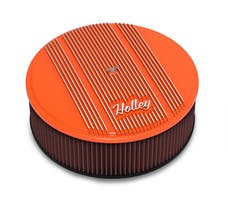 Holley 120-129 Holley Air Cleaner, Finned