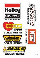 Holley 36-410 DECAL, HOLLEY BRANDS SOLD HERE