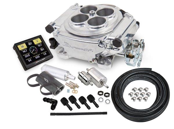 Holley 550-510K TBI Master Kit, Polished