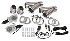 Hooker 11051HKR 2.5IN ELECTRIC EXHAUST CUT-OUTS DUAL