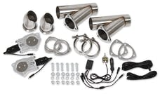 Hooker 11052HKR 3IN ELECTRIC EXHAUST CUT-OUTS DUAL