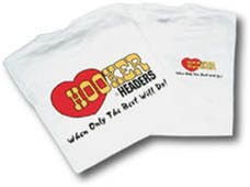 Hooker 10132HKR White T-Shirt - Size Small