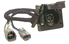 Hopkins Towing 11143374 Plug-In Simple Vehicle To Trailer Wiring Harness Multi-Tow 7 Blade And 4 Flat