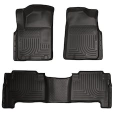 Husky Liners 98611 Weatherbeater Series Front & 2nd Seat Floor Liners