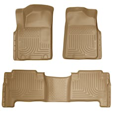 Husky Liners 98613 Weatherbeater Series Front & 2nd Seat Floor Liners