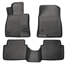 Husky Liners 98651 Weatherbeater Series Front & 2nd Seat Floor Liners