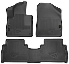 Husky Liners 98691 Weatherbeater Series Front & 2nd Seat Floor Liners