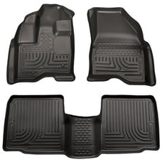 Husky Liners 98701 Weatherbeater Series Front & 2nd Seat Floor Liners