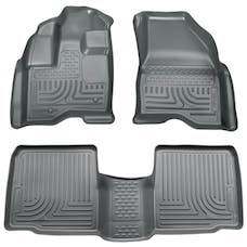 Husky Liners 98702 Weatherbeater Series Front & 2nd Seat Floor Liners