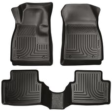 Husky Liners 98751 Weatherbeater Series Front & 2nd Seat Floor Liners