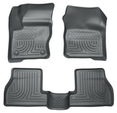 Husky Liners 98772 Weatherbeater Series Front & 2nd Seat Floor Liners