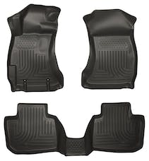 Husky Liners 98841 Weatherbeater Series Front & 2nd Seat Floor Liners