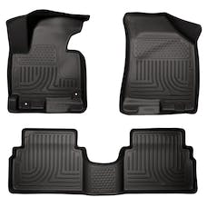 Husky Liners 98861 Weatherbeater Series Front & 2nd Seat Floor Liners