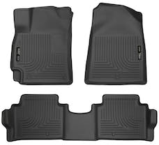 Husky Liners 98871 Weatherbeater Series Front & 2nd Seat Floor Liners