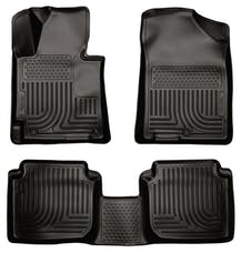 Husky Liners 98891 Weatherbeater Series Front & 2nd Seat Floor Liners