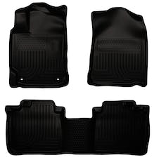 Husky Liners 98901 Weatherbeater Series Front & 2nd Seat Floor Liners