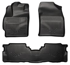 Husky Liners 98911 Weatherbeater Series Front & 2nd Seat Floor Liners
